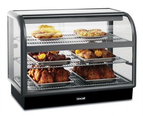 Curved Front Heated Merchandiser - Back service